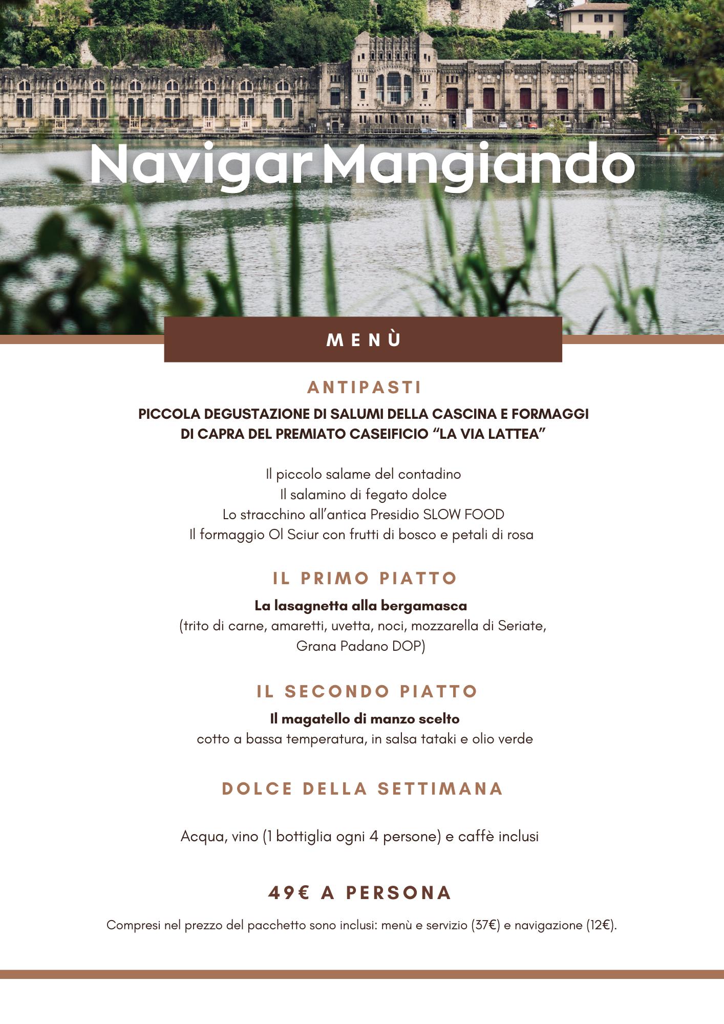 Navigar Mangiando Milano